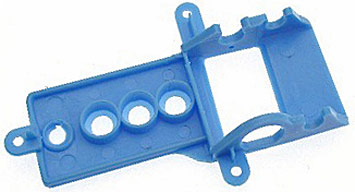 NSR1246 NSR Narrowed Sidewinder Motor Mount Soft, Blue