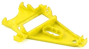 NSR 1260 Triangular Anglewinder Long Can Motor Mount ExLt Yellow