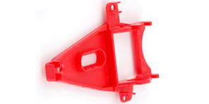 NSR 1264 Triangular Sidewinder Short Can Motor Mount Ex Hard Red