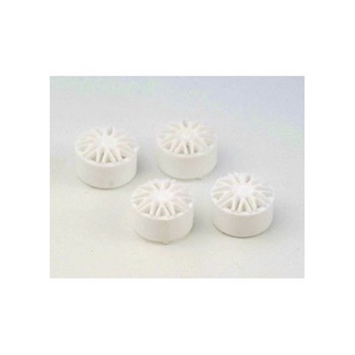 "NSR 5422 BBS Type Wheel Inserts for 17"" Wheels White, 4/pk"