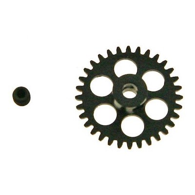 NSR 6532 3/32 32t Anglewinder Gear 16.8mm Extralight Aluminum