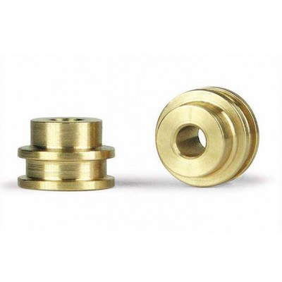 SIPA12 Slot.it Brass Bushings for Old Carrera, 3/32 Axles, 2/pk