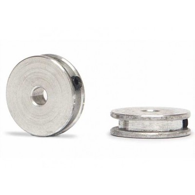 SIPA28 Slot.it CNC Aluminum Pulley for 4 Wheel Drive, 2/pk