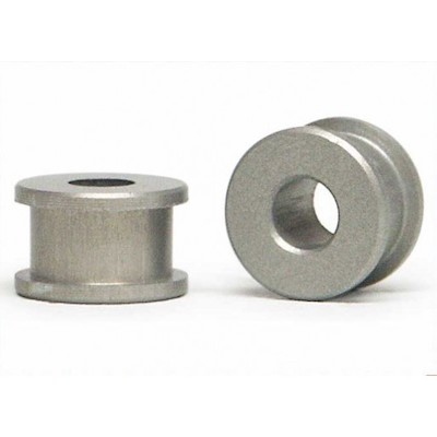SIPA32 Slot.it Aluminum/Teflon Axle Bushings, Single Wide, 2/pk