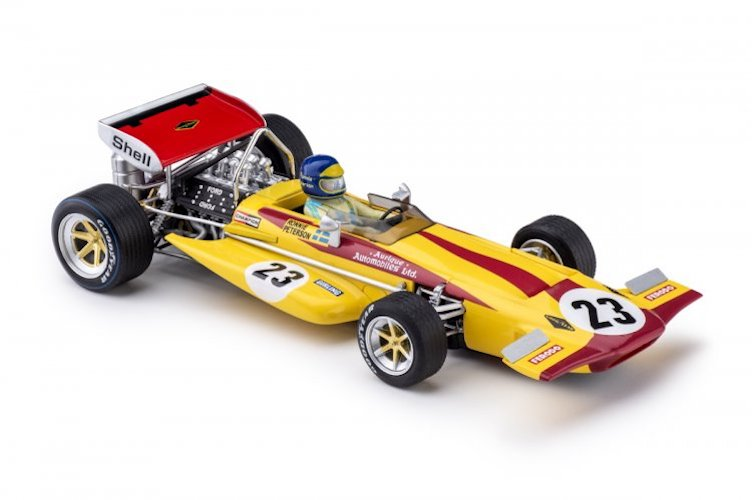 PCAR04C Policar March 701 No.23 Monaco GP 1970
