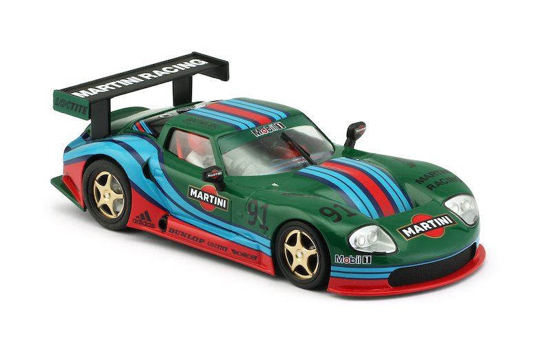 RevoSlot RS0073 Marcos LM600 GT2, No.91, Martini Green