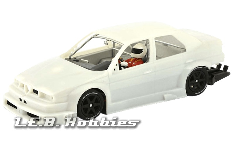 SICA35Z Slot.it Alfa Romeo 155 V6 TI Undecorated White Kit