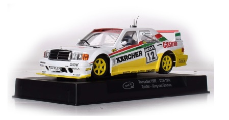 SICA44B Slot.it Mercedes 190E, No.12, Zolder DTM 1992