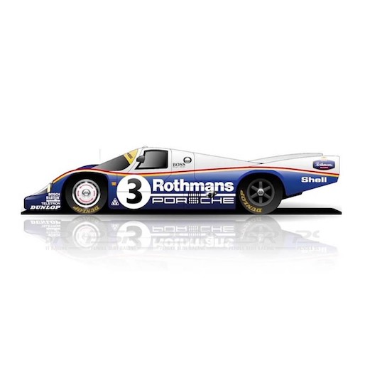 Slot.it SICW24 Porsche 956C LH No.3 24h Le Mans Winner 1983