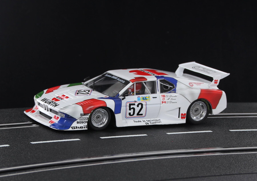 SW65 Racer Sideways BMW M1 Wurth Team Sauber Le Mans 1981, No.52