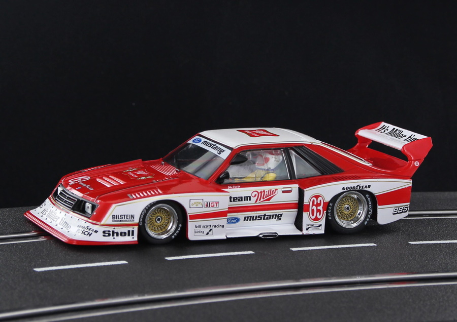 SW66 Racer Sideways Ford Mustang Turbo Miller, No.63, DRM 1981