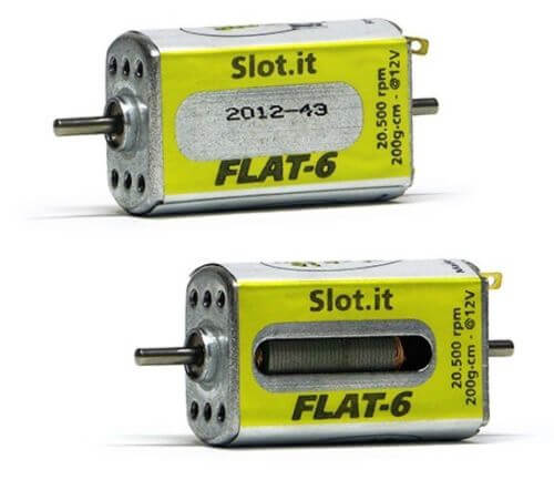 SIMN09CH Slot.it Flat6 20.5k Motor Open and Close, 200gm/cm