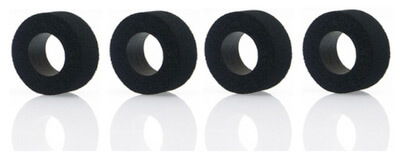 SIPT1209-SP30 Slot.it SP30 Sponge Rubber (Foam) Tires, 4/pk