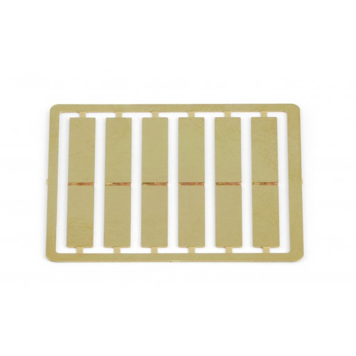 SISP37 Slot.it Brass Tab, LMP Pickup, 6/pc