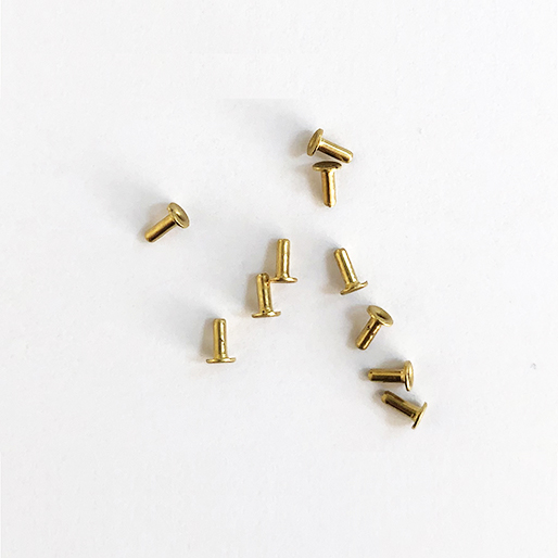Sideways SWBE/15 Brass Eyelet 3.2mm-1.5mm diameter-4.8mm length