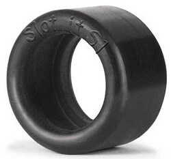 SIPT06 Slot.it S1 Silicone Slick Tires 19mm-20.2mm x 10mm, 4/pk