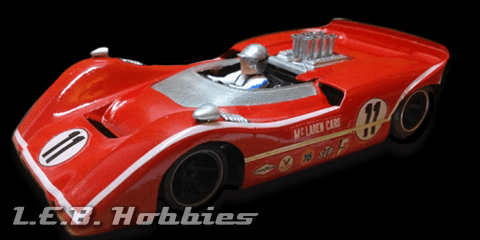 CA00302S/W Thunder Slot McLaren M6A Can Am Motschenbacher No.11