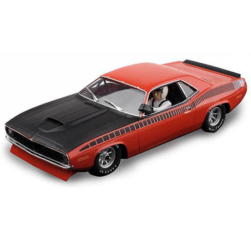 SCX Plymouth Trans Am AAR Cuda 1970 Vitamin C Orange Limited Ed.