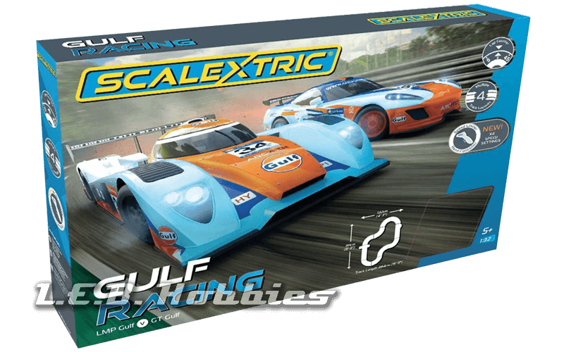 C1384T Scalextric Gulf Racing Set