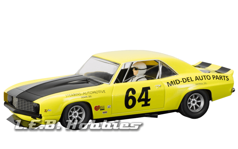 C3724 Scalextric Chevrolet Camaro 1969 Trans-Am