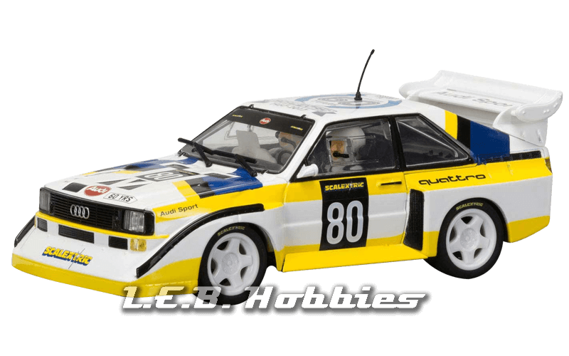 C3828A Scalextric Ann.Collection 1980s, Audi Sport Quattro S1 E2