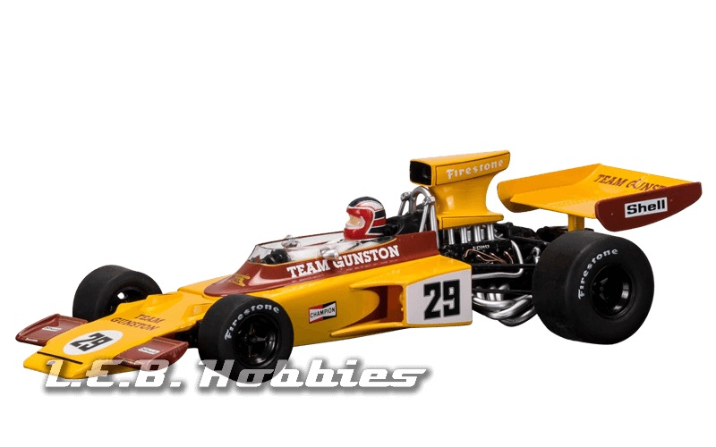 C3833A Scalextric Lotus 72 Gunston 1974 Ian Scheckter Limited Ed