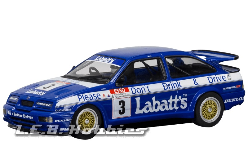 C3867 Scalextric Ford Sierra RS500, Tim Harvey