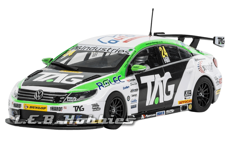 C3918 Scalextric VW Passat CC NGTC Team HARD BTCC 2017 Jake Hill
