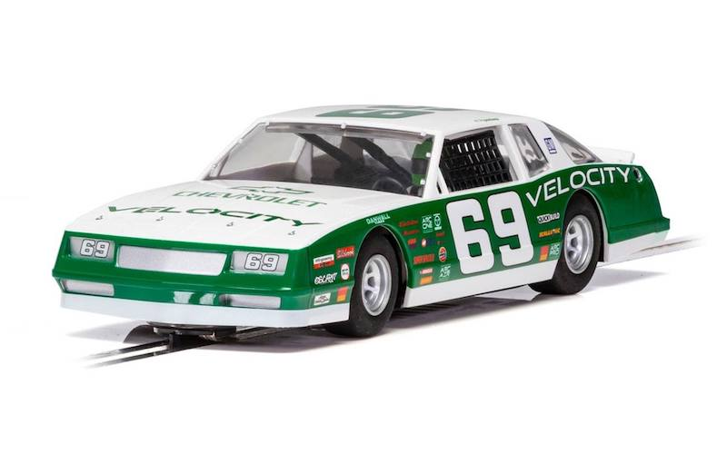 C3947 Scalextric Chevrolet Monte Carlo 1986 Green & White