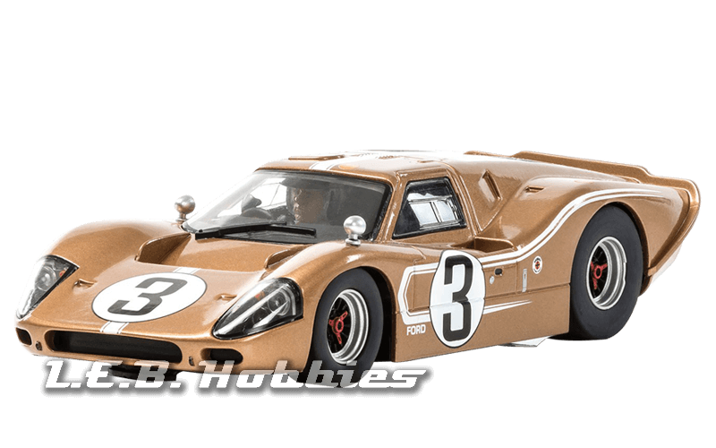 C3951 Scalextric Ford GT MXIV Le Mans 24Hrs 1967