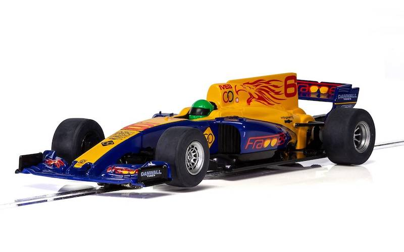 C3960 Scalextric Blue Wings Formula One Car