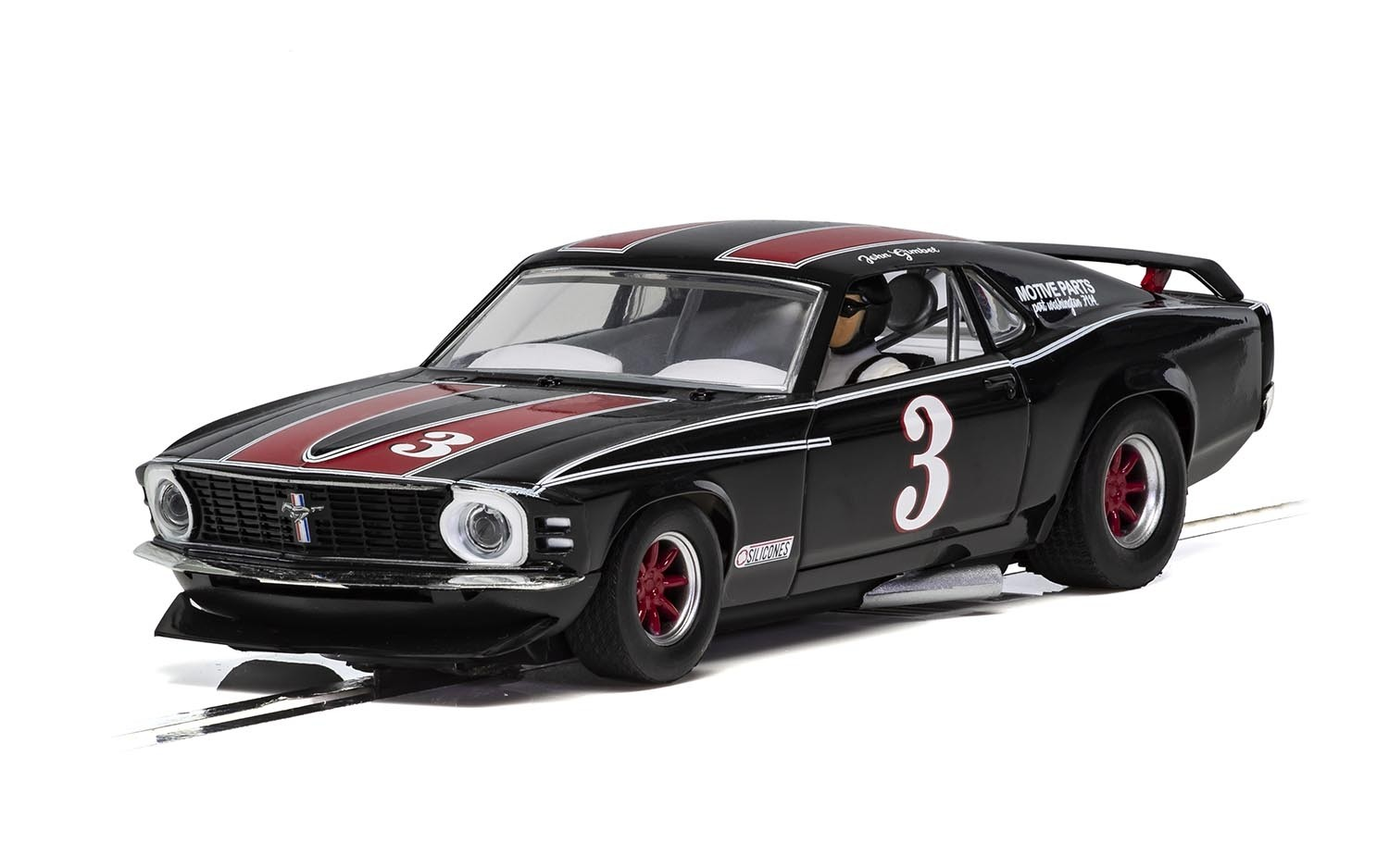C4014 Scalextric Ford Mustang Trans Am 1972, John Gimbel