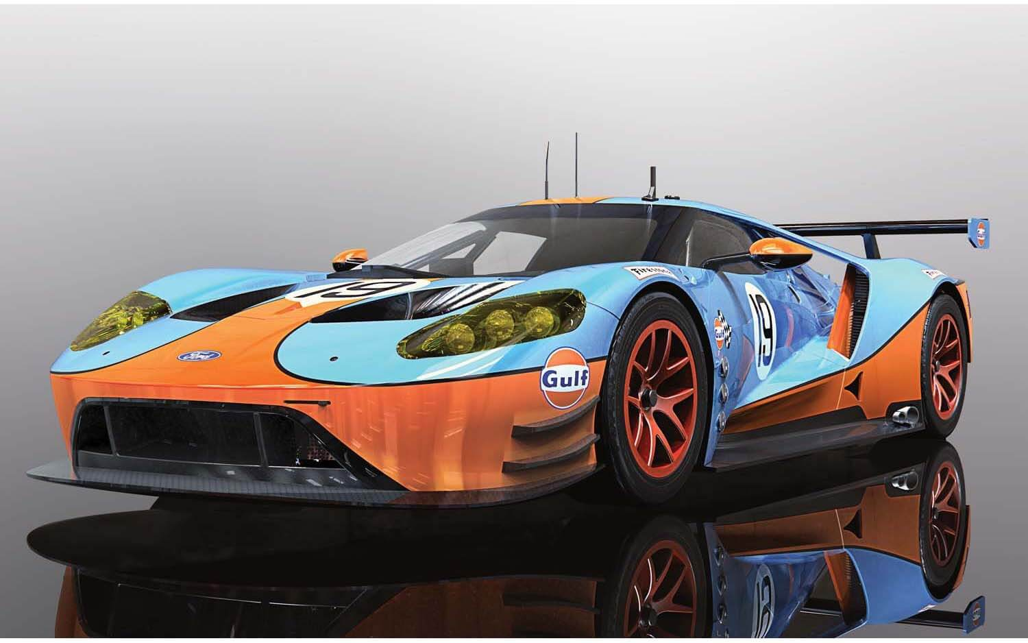 C4034 Scalextric Ford GT GTE Gulf Edition