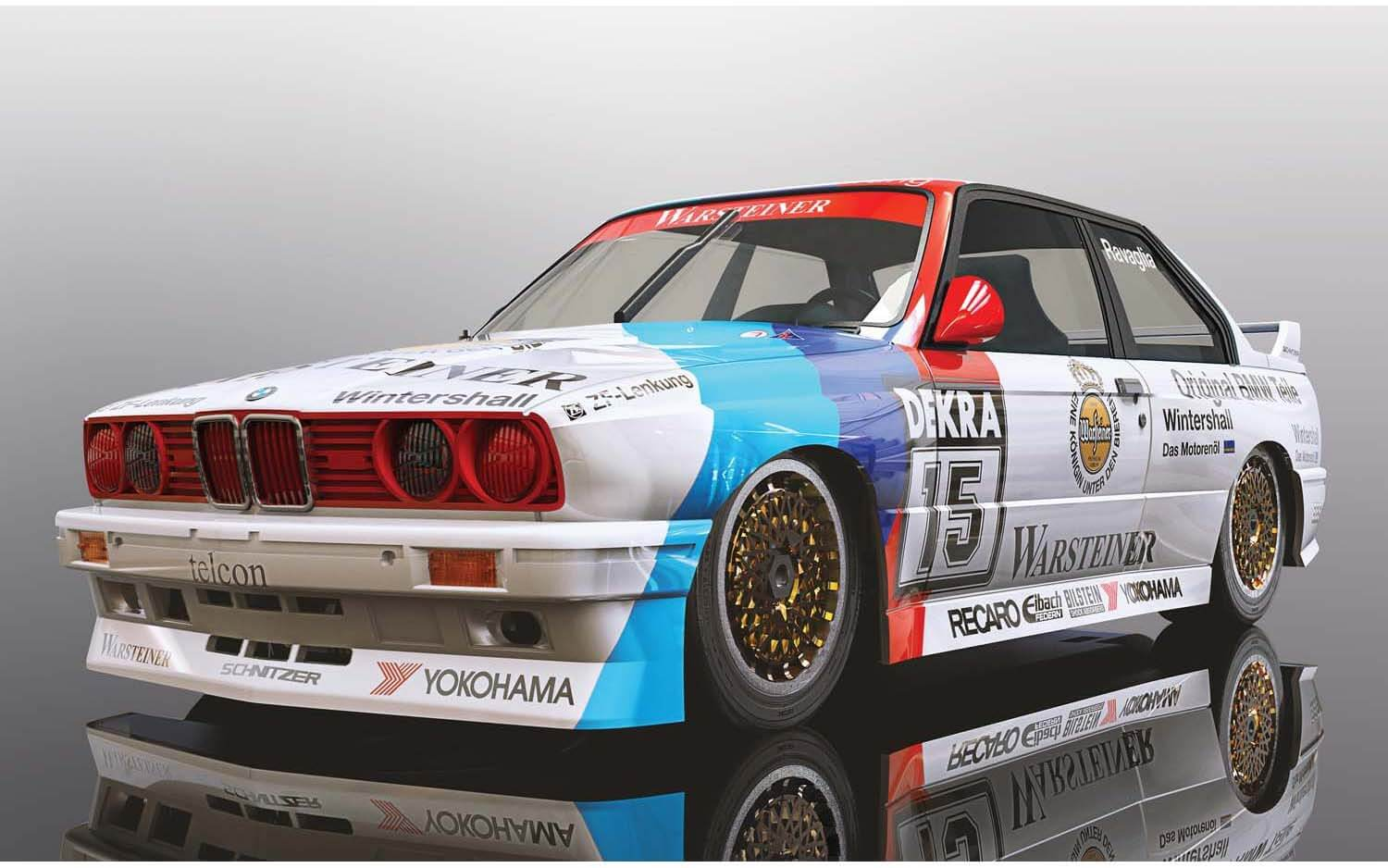 C4040 Scalextric BMW E30 M3, DTM 1989 Champion