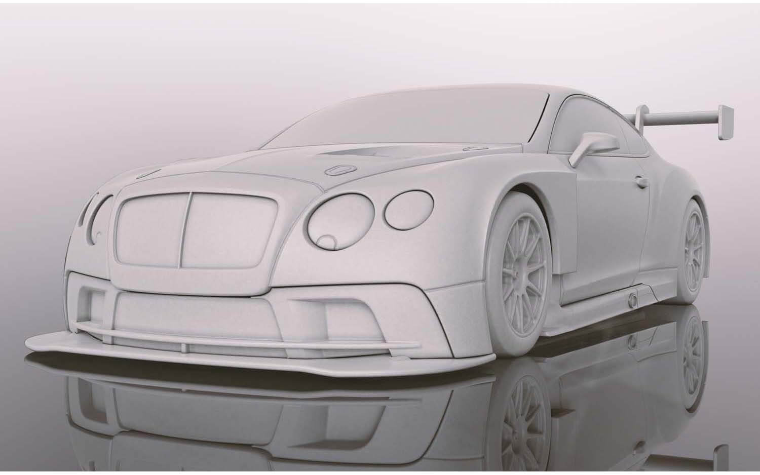 C4057A Scalextric Bentley Continental GT3 Centenary Edition