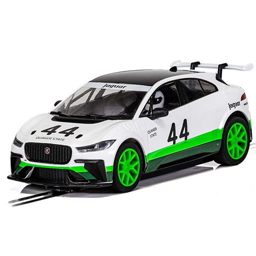 C4064 Scalextric Jaguar I-Pace Group 44 Heritage Livery