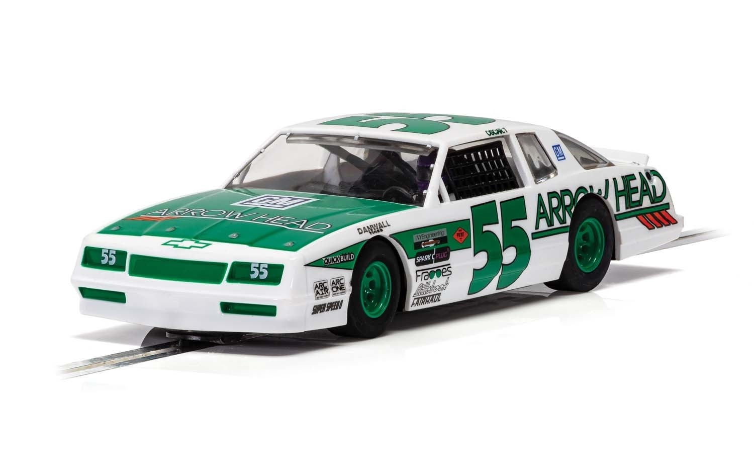 C4079 Scalextric Chevrolet Monte Carlo, Green & White, No.55