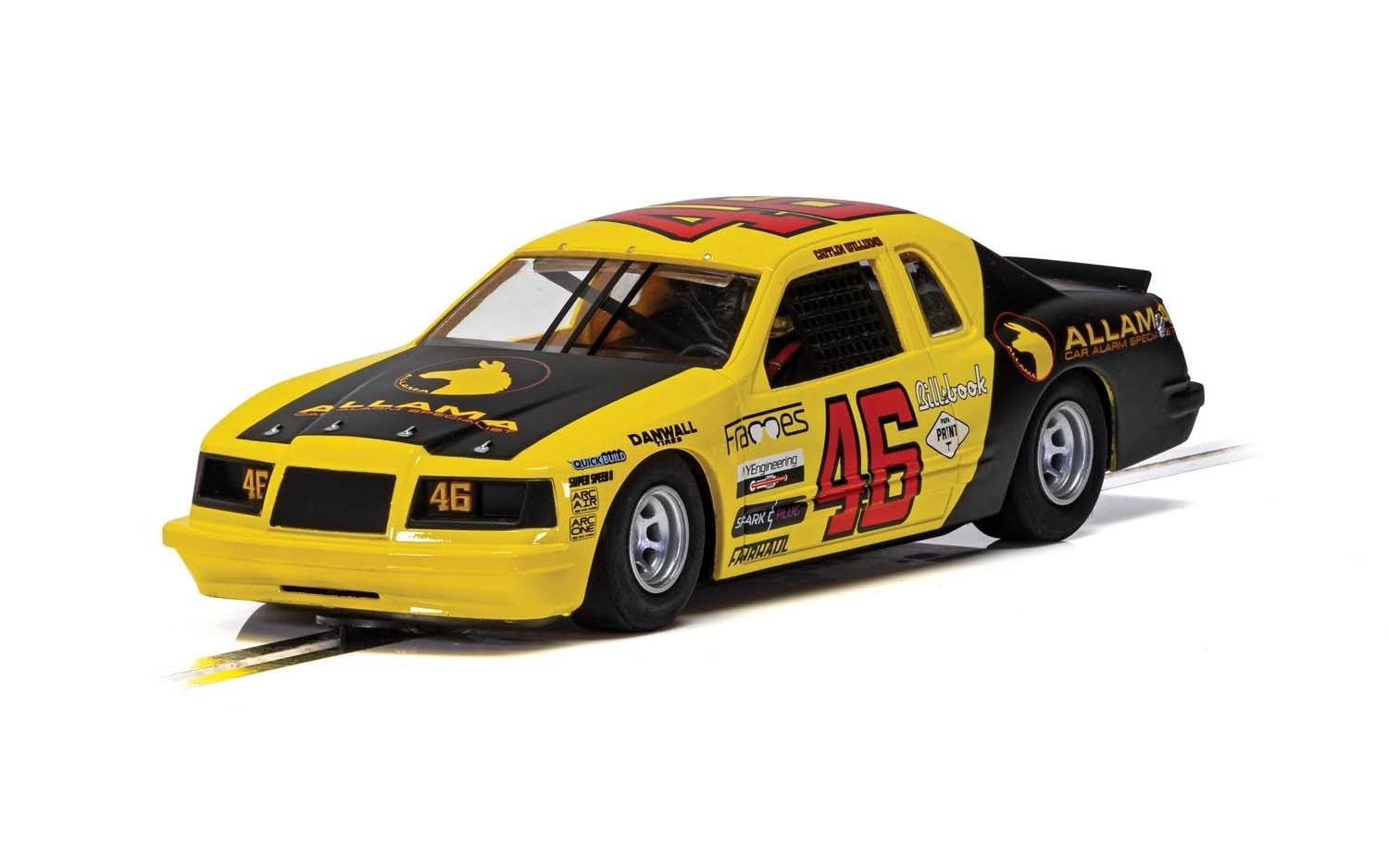 C4088 Scalextric Ford Tunderbird, Yellow & Black, No.46