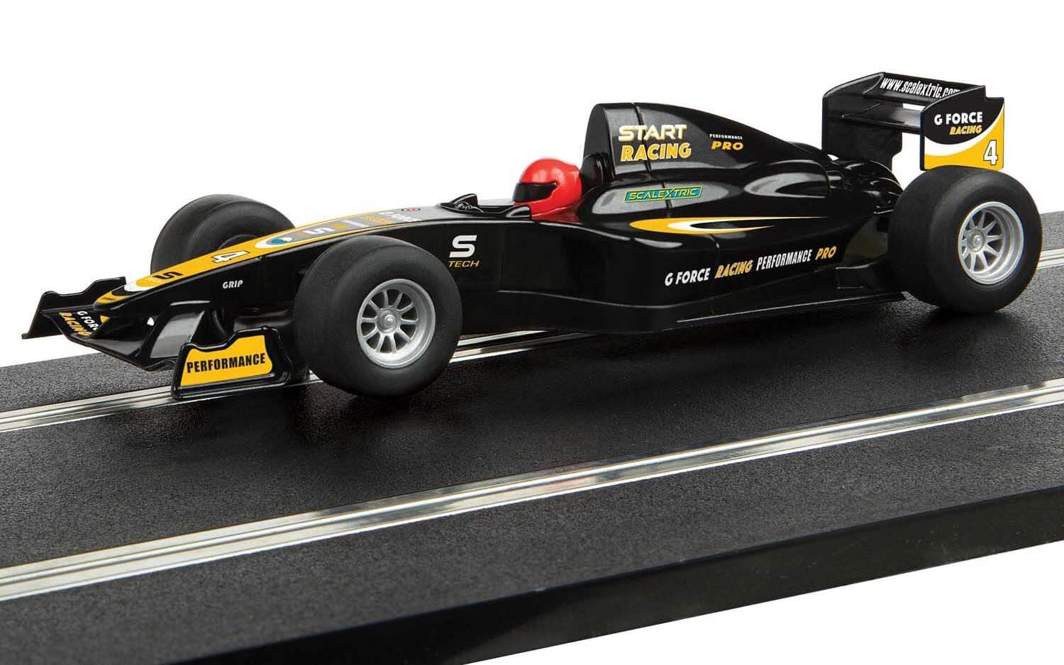 C4113 Scalextric Start F1 Racing Car - 'G Force racing'
