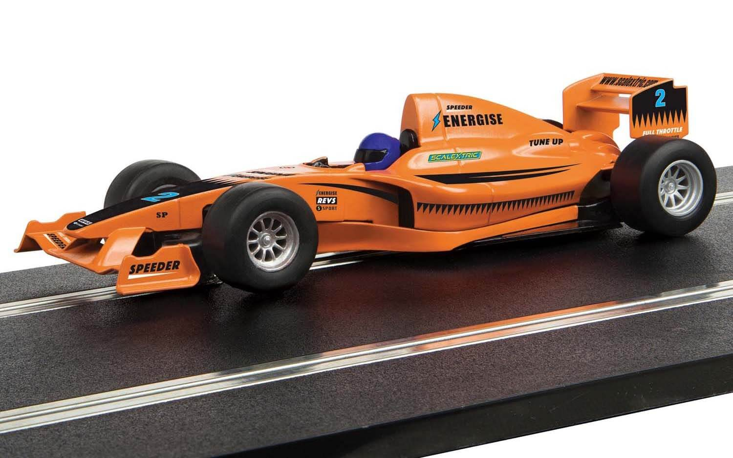 C4114 Scalextric F1 Racing Car - 'Team Full Throttle'