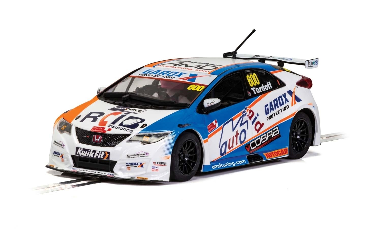 C4144 Scalextric Honda Civic Type R, BTCC 2019, Sam Tordoff