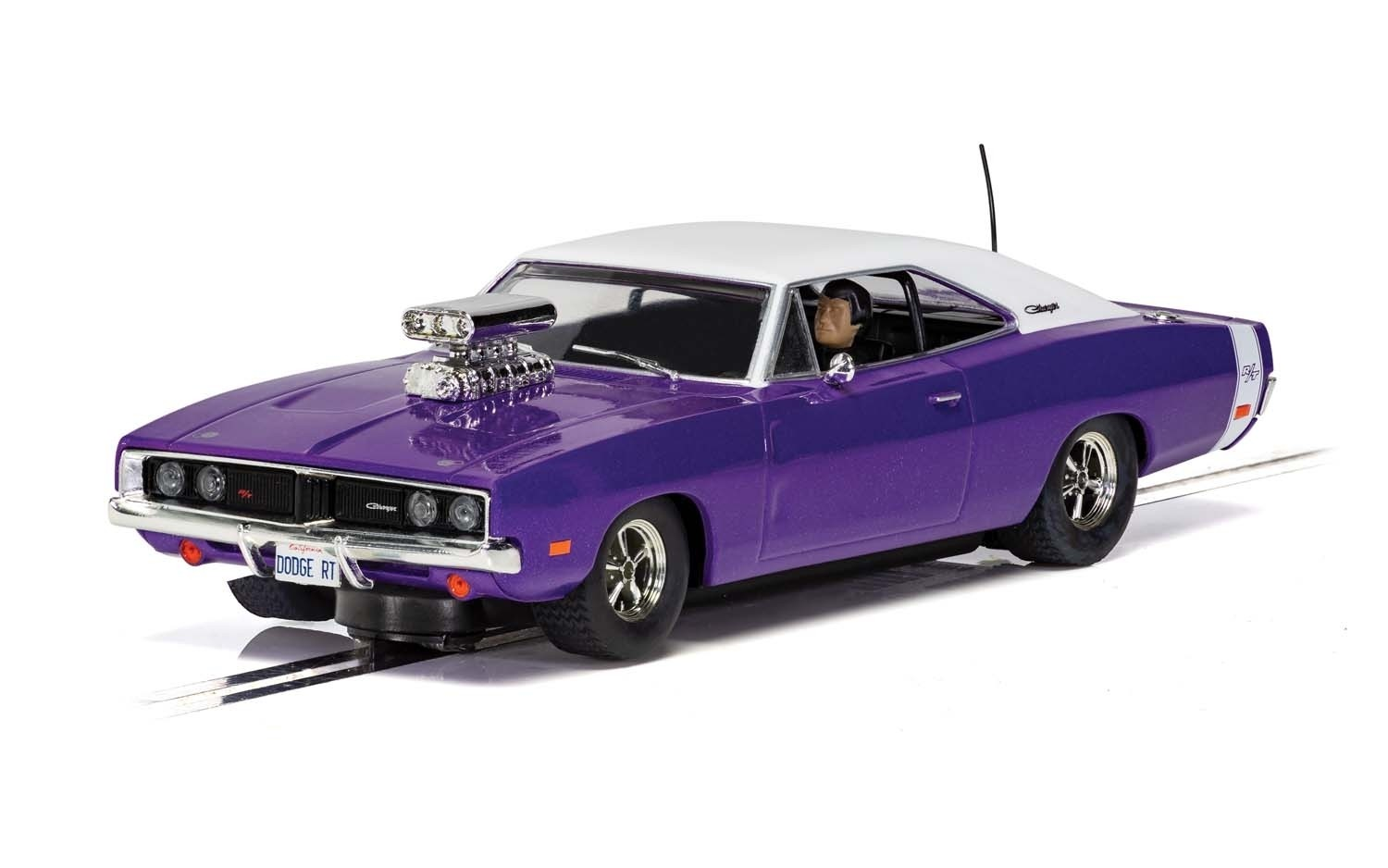 Scalextric C4148 Dodge Charger R/T, Purple