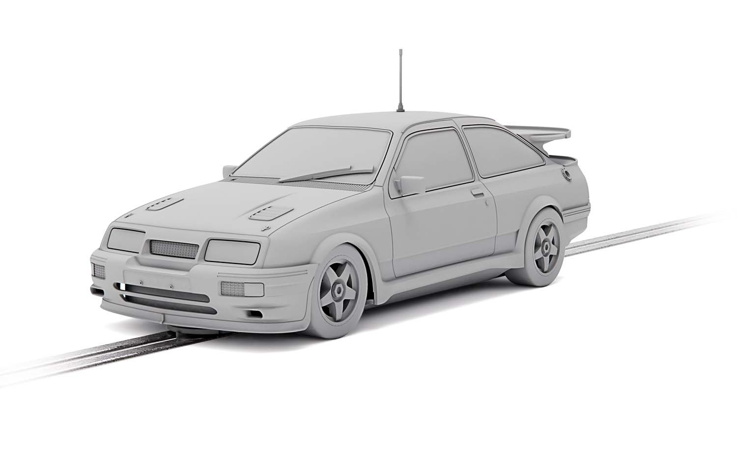 C4155 Scalextric Ford Sierra RS500, 'Came 1st'
