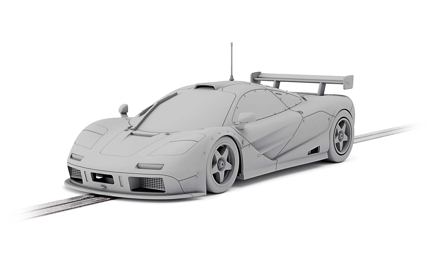 C4159 Scalextric McLaren F1 GTR, Le Mans 1995, BBA Competition