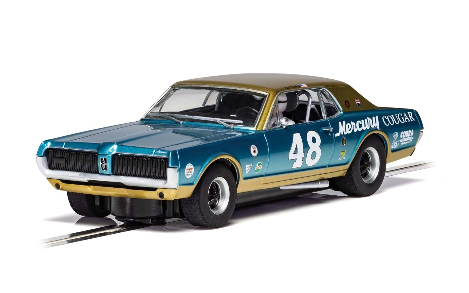C4160 Scalextric Mercury Cougar, No.48