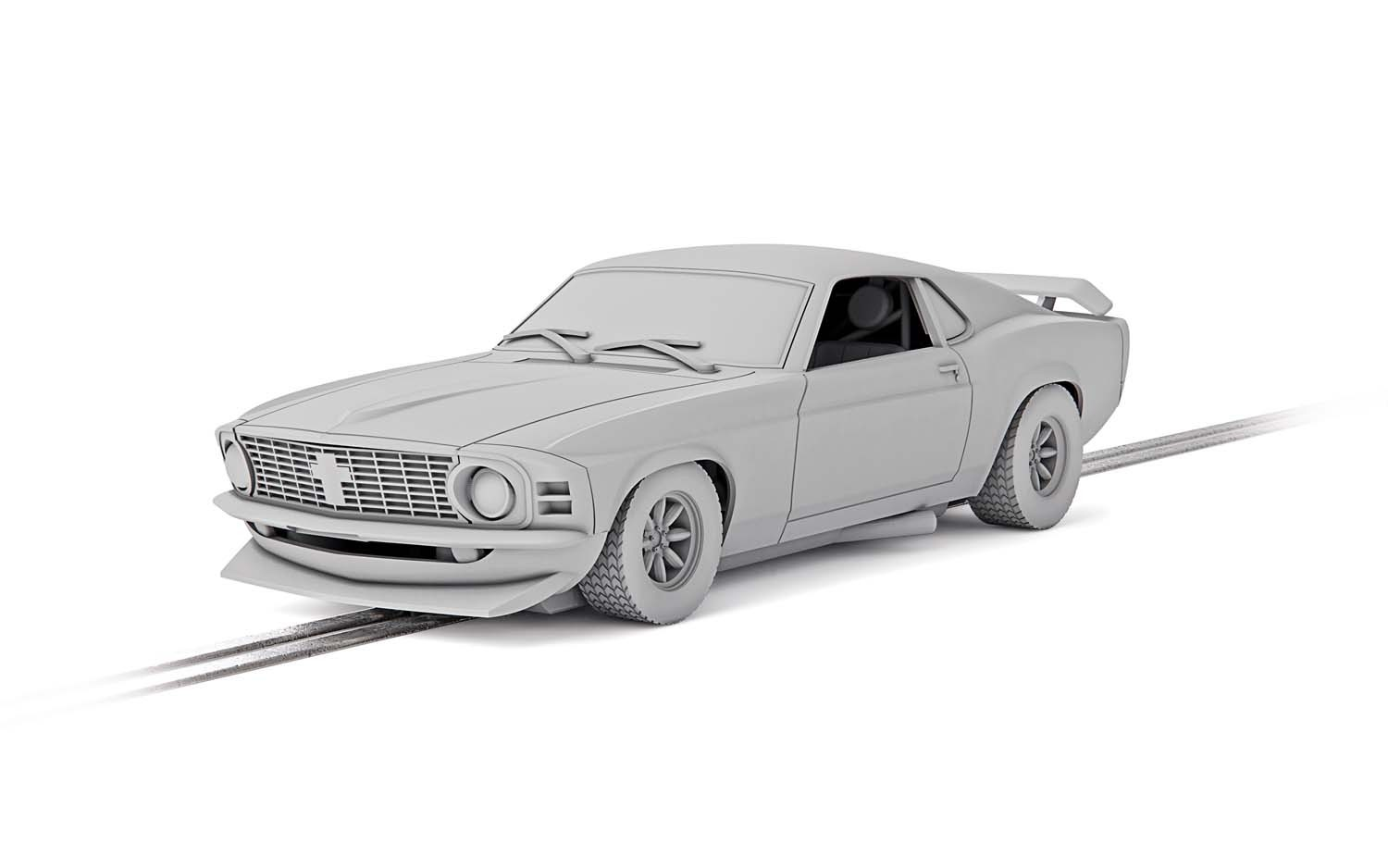 C4176 Scalextric Ford Mustang Boss 302, Martin Birrane