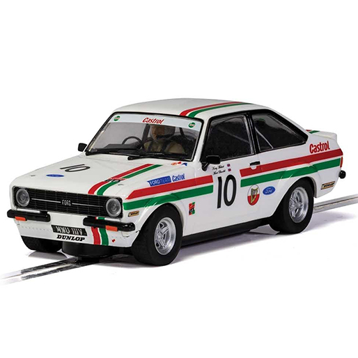 Scalextric C4208 Ford Excort MK2 Castrol Edition Goodwood