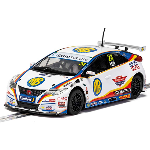 Scalextric C4210 Honda Civic Type-R NGTC Jake Hill 2020