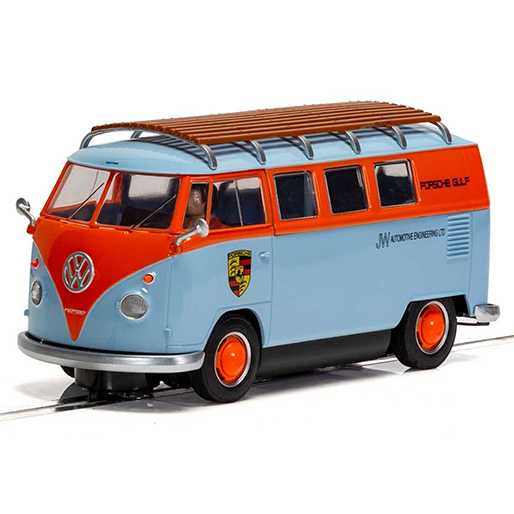 Scalextric C4217 VW T1b Microbus ROFGO Gulf Collection