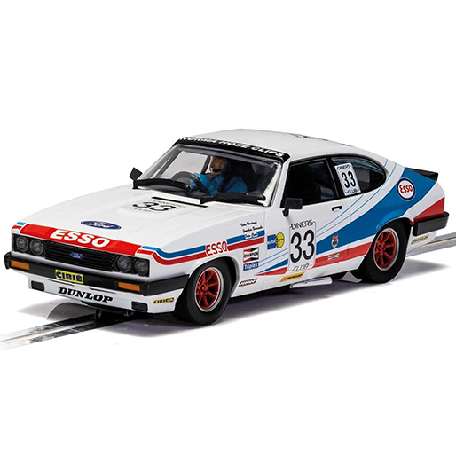 Scalextric C4222 Ford Capri MKIII Spa 24 Hours 1981